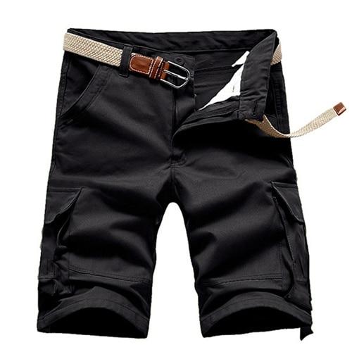 Military-Shorts Outdoor Trekking Cargo Soldier-Climbing Tactical Straight Cotton Summer