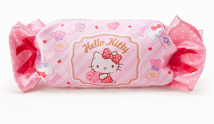 4e524580c ... Kawaii Cute Cartoon Hello Kitty My Melody Candy School Pencil Case  Storage Pen Bag for Girls ...