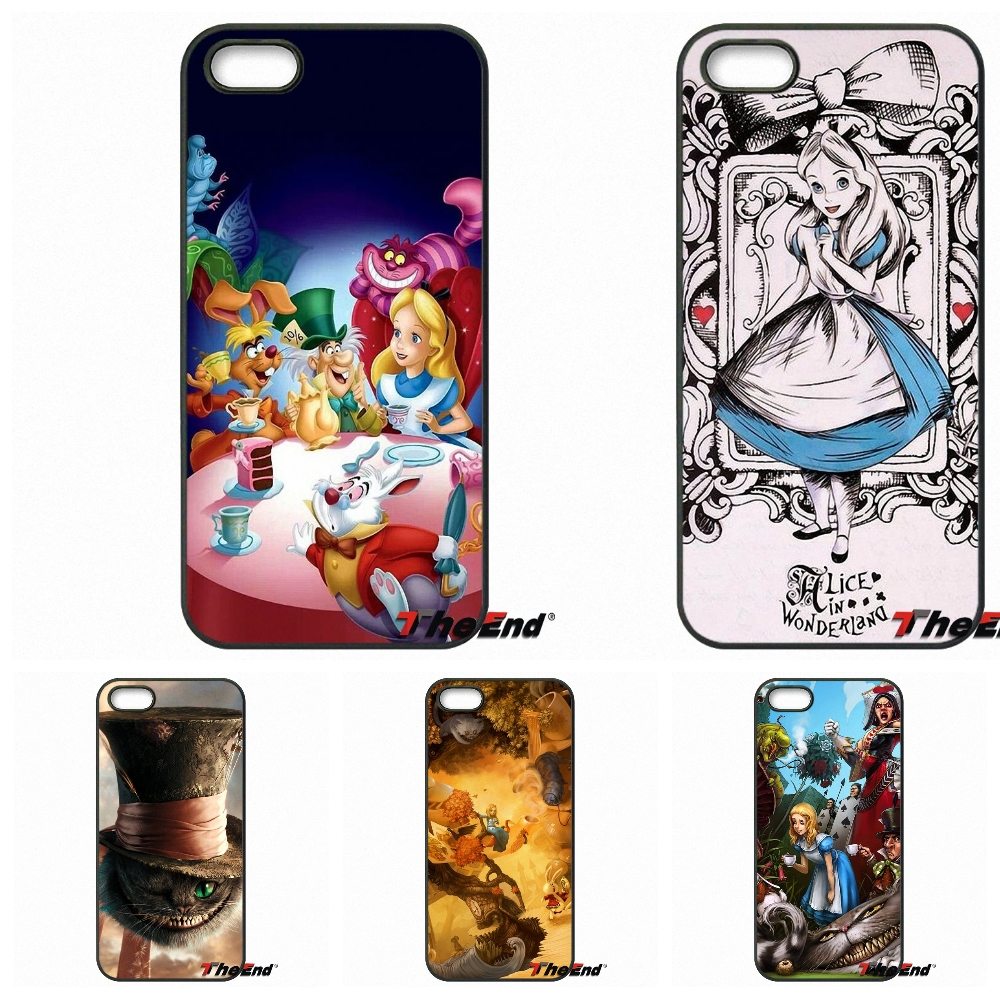 For Motorola Moto E E2 E3 G G2 G3 G4 PLUS X2 Play Style Blackberry Q10 Z10 Funny Alice in Wonderland Painted Cell Phone Cover