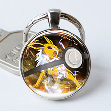 Pikachu Pokemon Pokeball Key Chains