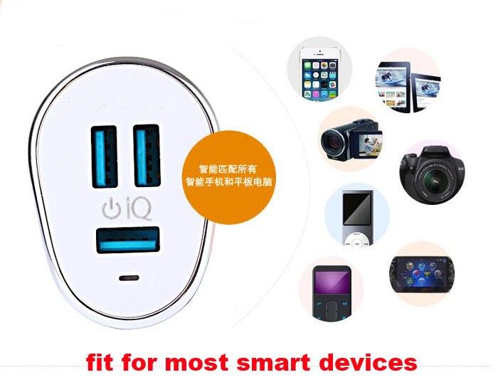 2A 1A 6.3a макс 3 USB Порты и разъёмы мобильный телефон автомобильное Зарядное устройство для <font><b>LG</b></font> G6/G5/G4/G3 /G2, k3/K4/k8/K10 (2017). v20/<font><b>V10</b></font>, X Cam/X кожи/X стиль/X Play