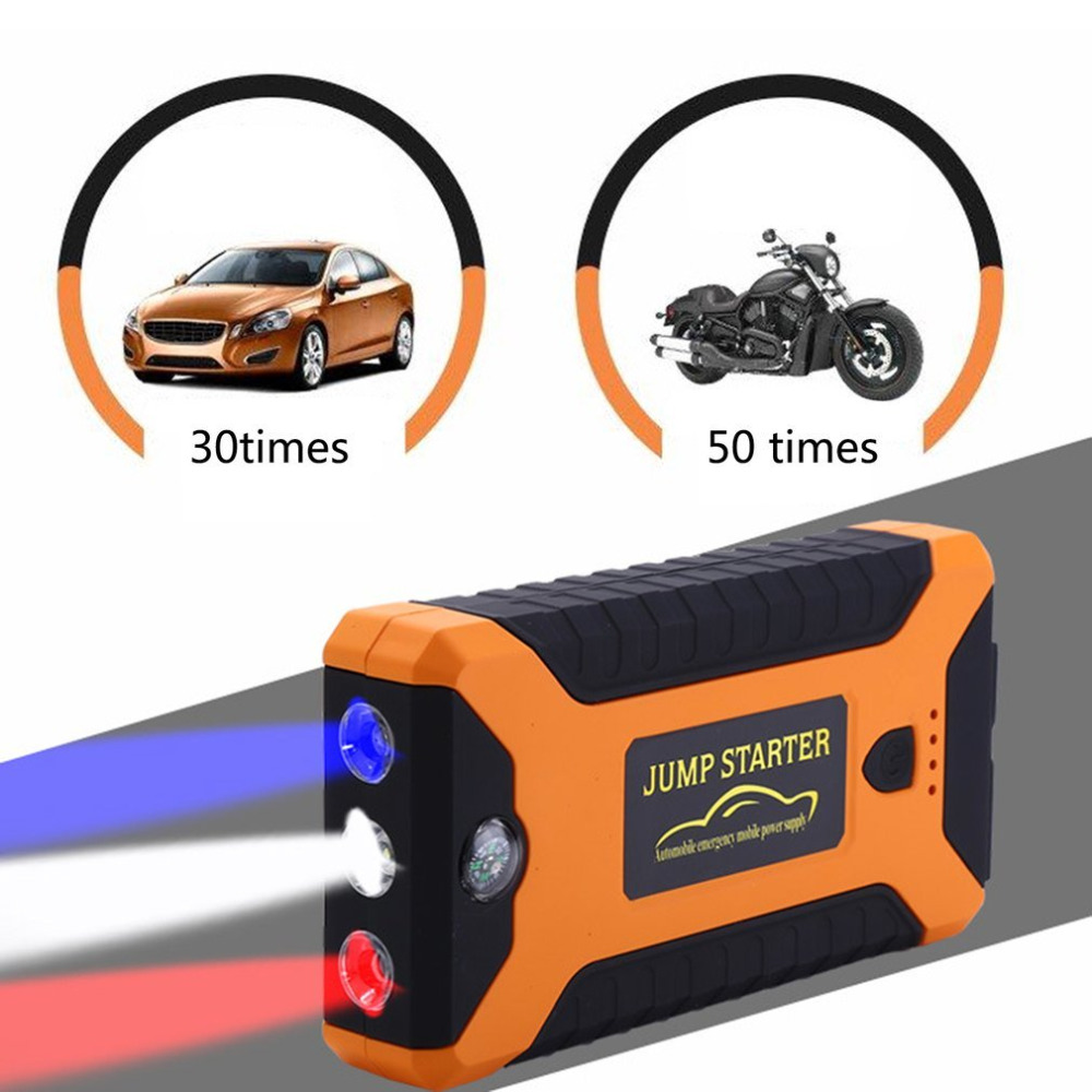 22000mAh Multifunction Jump Starter Battery Emergency Auto Power Supply 12V LCD Digital Engine Booster Power Bank for Laptop