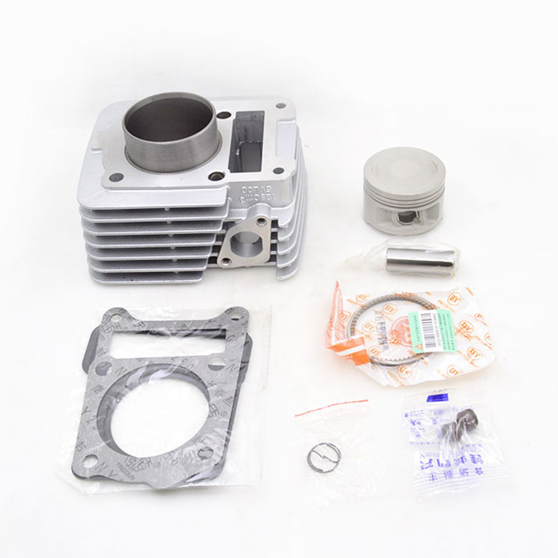 High Quality Motorcycle Cylinder Kit 54mm Bore 5VL00 For Yamaha YBR125 YBR 125 Engine Spare Parts high quality motorcycle cylinder kit for yamaha majesty yp250 yp 250 250cc engine spare parts page 7