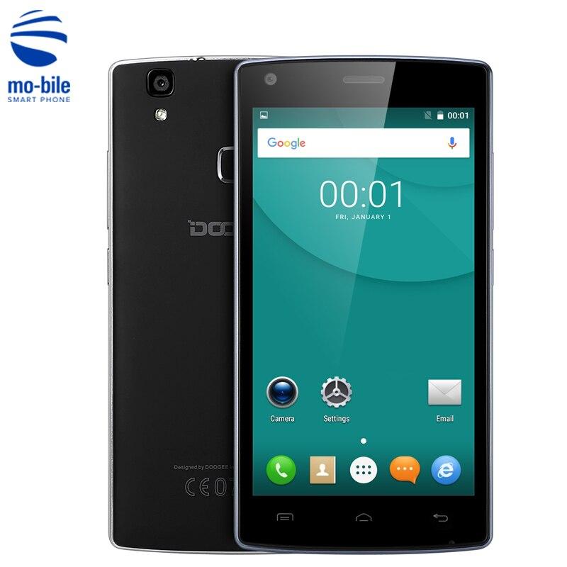 Цена за На складе doogee x5 max pro 4 г 5.0 дюймов смартфон dual SIM MTK6737 Quad Core 4000 мАч 2 ГБ RAM 16 ГБ ROM Отпечатков Пальцев Мобильный телефон