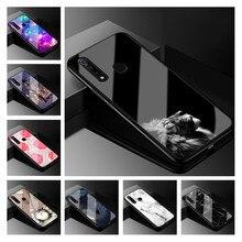 Tempered Glass Case For VIVO Z5x 6.53 Hard Back Cover Phone Vivo VIVOZ5x vivoZ5 x Z5 Z 5x Coque Funda