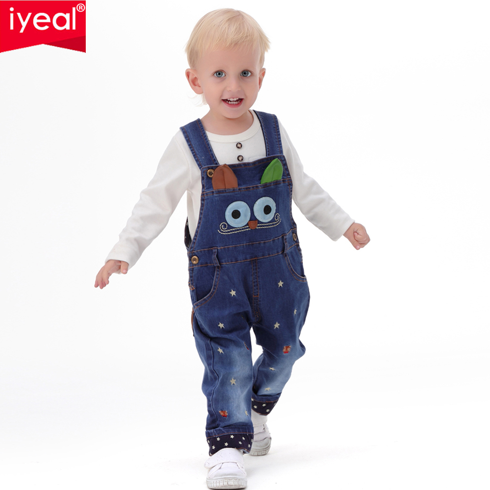 Brand 2017 Spring Baby Rompers Animal Baby Boy Girl Jeans ...