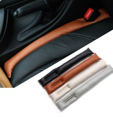 Leather Car Seat Gap Pad Space Filler Padding for Honda BMW AUDI VW BENZ Toyota Free Drop Shipping