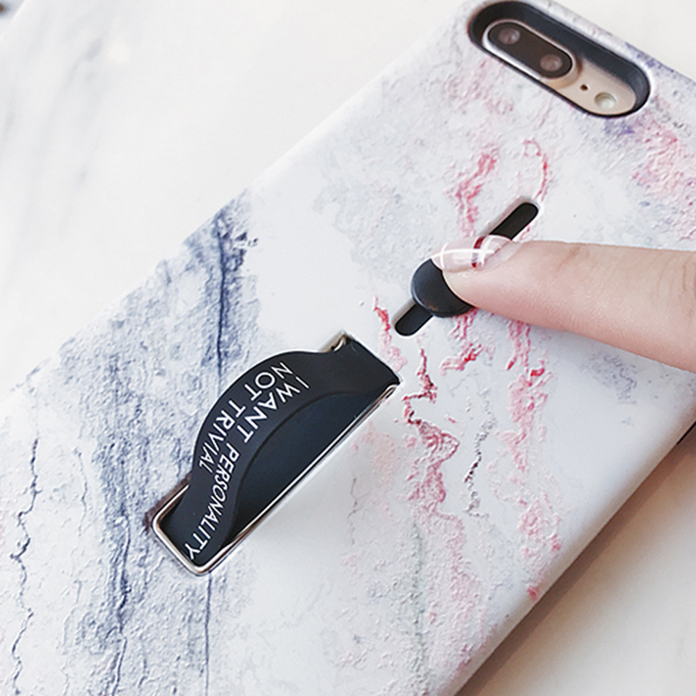 AXBETY-For-iphone-6s-6-7-8-Plus-XS-MAX-XR-Fashion-Marble-silicon-Ring-Phone.