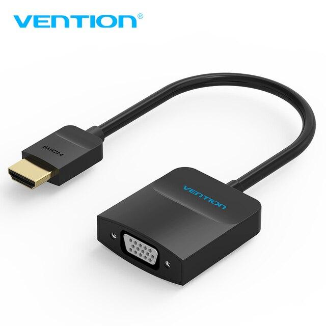 Vention HDMI к VGA адаптер цифро-Аналоговый Аудио-Видео Конвертер кабель 1080 P для Xbox 360 PS3 PS4 PC Ноутбук TV Box проектор