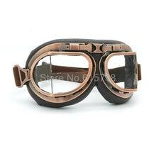 Casco de motocross Gafas, Lente transparente gafas de carreras de La Vendimia