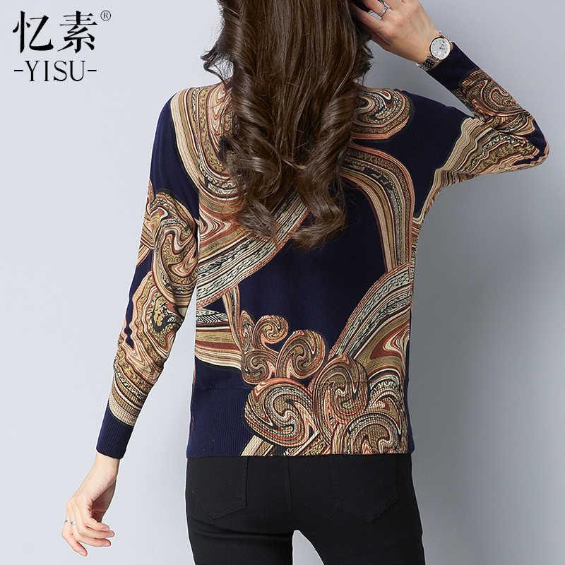 2018 ฤดูใบไม้ร่วงฤดูหนาวใหม่ถักเสื้อกันหนาวผู้หญิง Pullovers คอเสื้อยาวถักนุ่มอบอุ่น Pullover หญิง