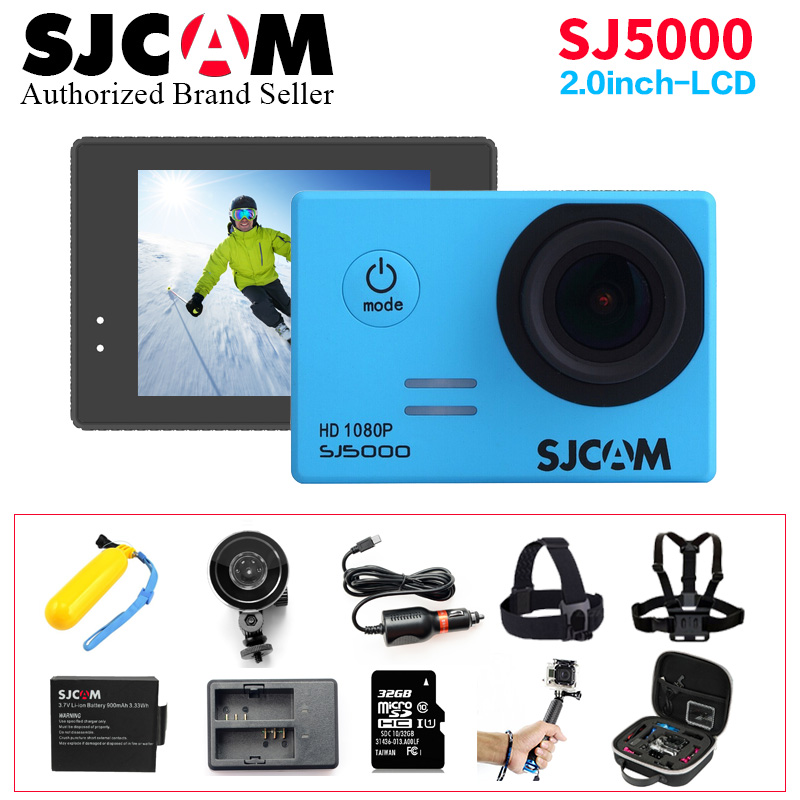 100 % Original SJCAM SJ 5000 Action Camera 1080P Full HD Waterproof Extreme Sport DV Helmet Camera 14MP Ultra Web camera VS Go