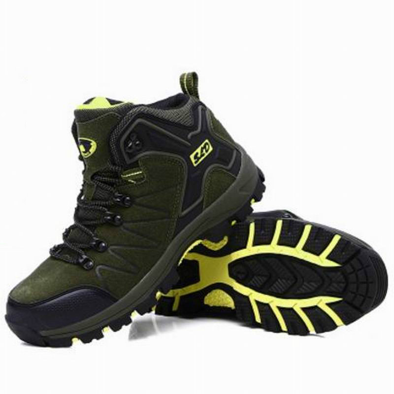 Trekking Shoes Men Outdoor Hiking Boots Waterproof Climbing Non-Slip Wear Resisting Sport Shoes Boot цена и фото