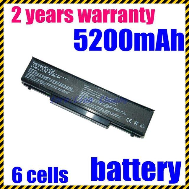 Jigu bateria do portátil para asus a32-f2 a32-f3 a32-z94 a32-z96 s9n-0362210-ce1 a9 F2 F2F F2J F3L F3P F3Q F3T F3U F3E F3H F3J F3SA