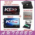 DHL Free KESS V2 V2.23 FW V4.036+KTAG V2.13 FW V6.070+FGTECH Galletto 4 Master v54 BDM Frame BDM 100 ECU Chip Programmer Tool