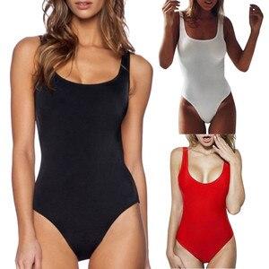 2020 Solidtankini stroje kąpielowe kobiety wysokiej talii strój kąpielowy Bikini Retro elastyczny, wysoki krój głęboki dekolt na plecach One Piece stroje kąpielowe kostiumy kąpielowe
