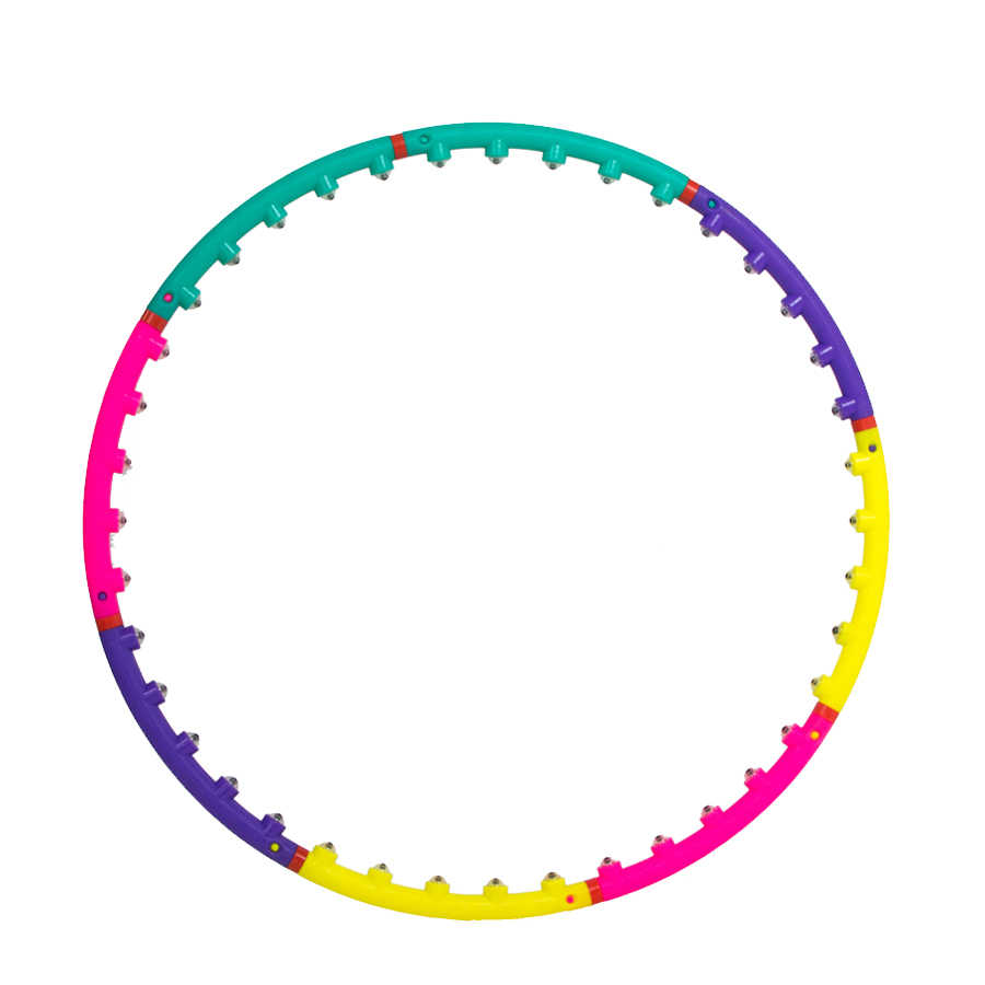 PENGROAD Waist Exercise Massage Sport Hoops Magnet Hard Tube Yoga Circle Gymnastics Ring Women Reduce Weight Fitness Equipments
