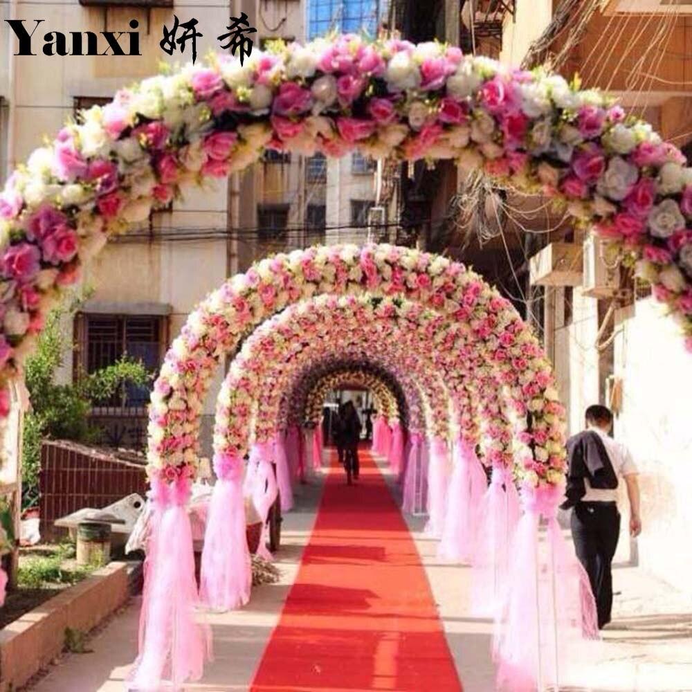 Wedding Flower Background: Artificial Silk Flower Wall Wedding Background Roses For