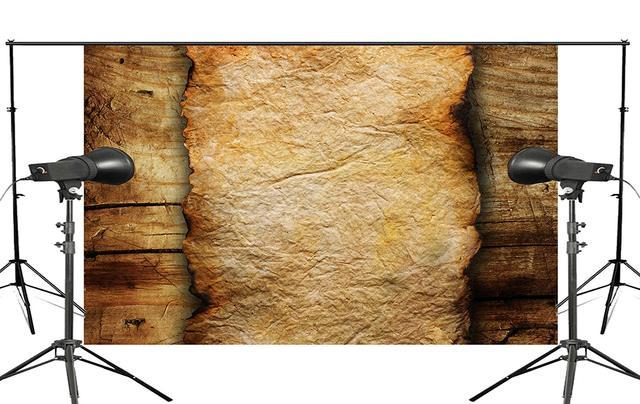 Piso de madeira e de Papel Queimado Estúdio Adereços Fundo Fotografia Retro Foto Cenário 5x7ft