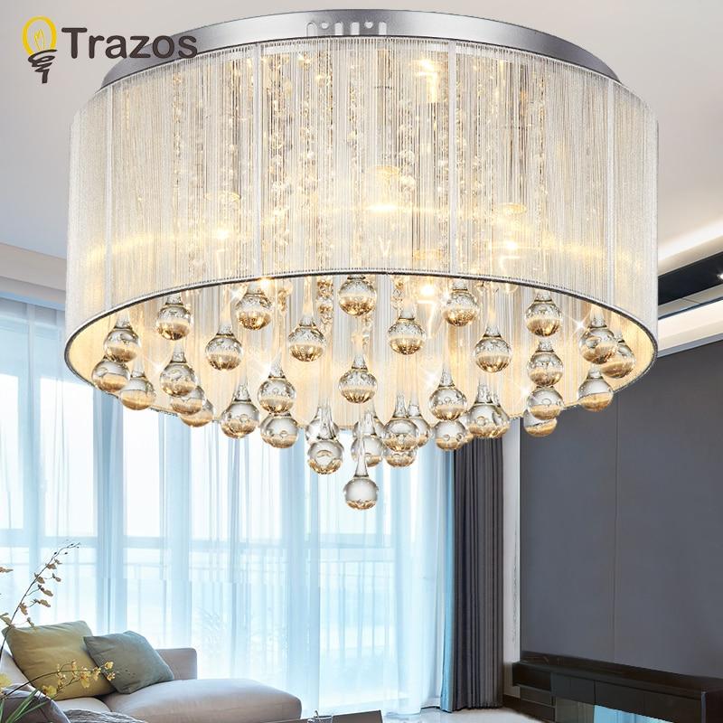 2018 Moderna le luci del soffitto di casa coperta di illuminazione lamparas de techo ha portato lampade per soggiorno luminaria teto pendente