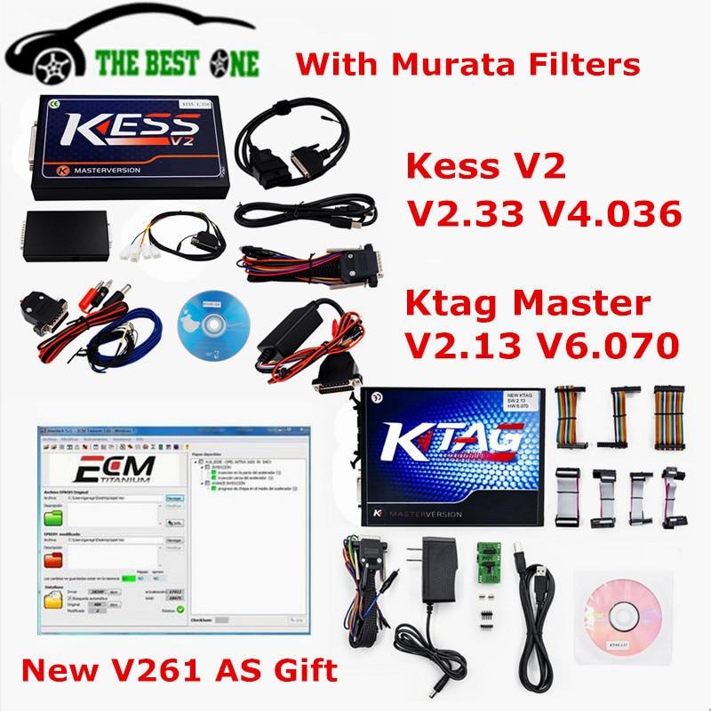 Цена за Unlimited маркеры KESS V2.33 V4.036 + KTAG V2.13 V6.070 KESS V2 OBD2 менеджер Тюнинг Комплект k тег K-TAG мастер 6.070 4.036 Бесплатная доставка DHL