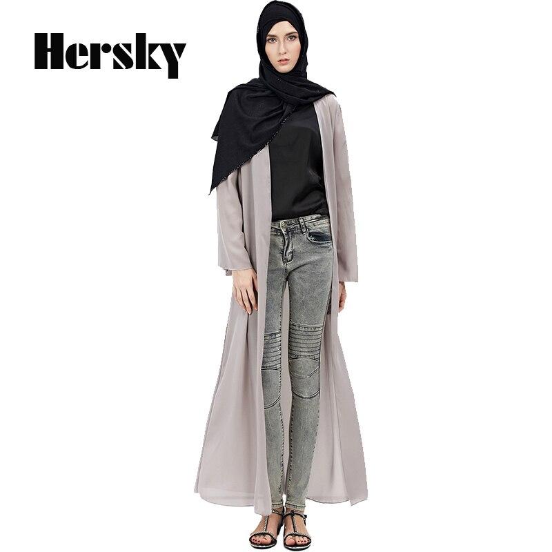 2018 Pakaian Turki Malaysia Abaya Muslim Wanita Gambar Fashion Hitam