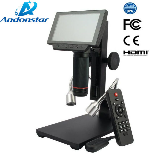 ANDONSTAR NEW HDMI USB microscope long object distance digital microscope for mobile phone rapair soldering tool