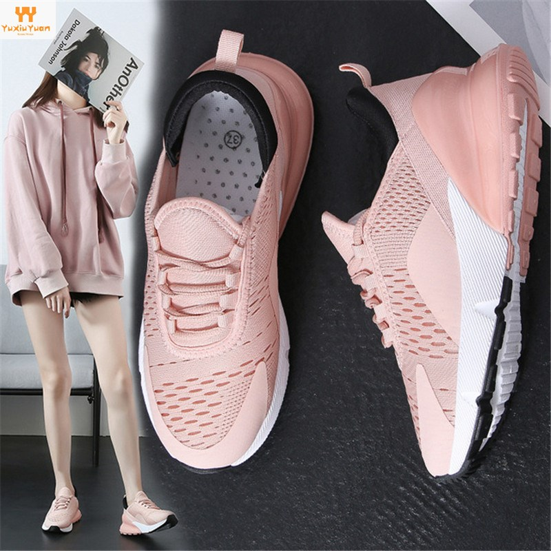 Promotion Rubber Breathable Lifestyle Mat 2019 Spring New Sports And Leisure Women's Shoes Wild Student Tide Female For