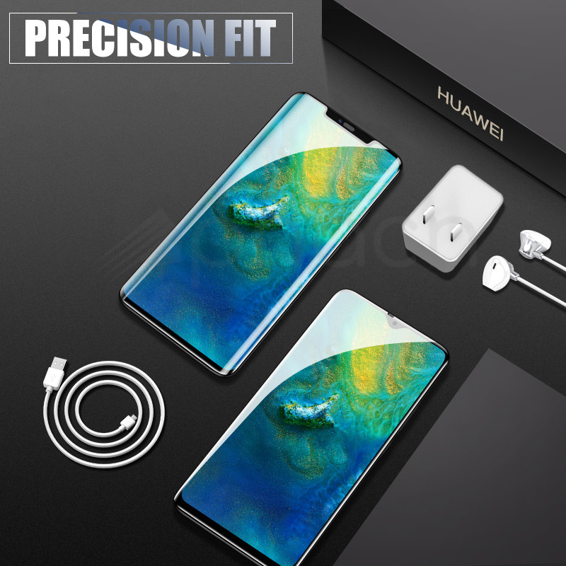Image 5 - 9D Protective Glass on the For Huawei Mate 20 10 Pro 20X 9 Lite Screen Protector For Huawei P Smart Tempered Glass Film Case-in Phone Screen Protectors from Cellphones & Telecommunications