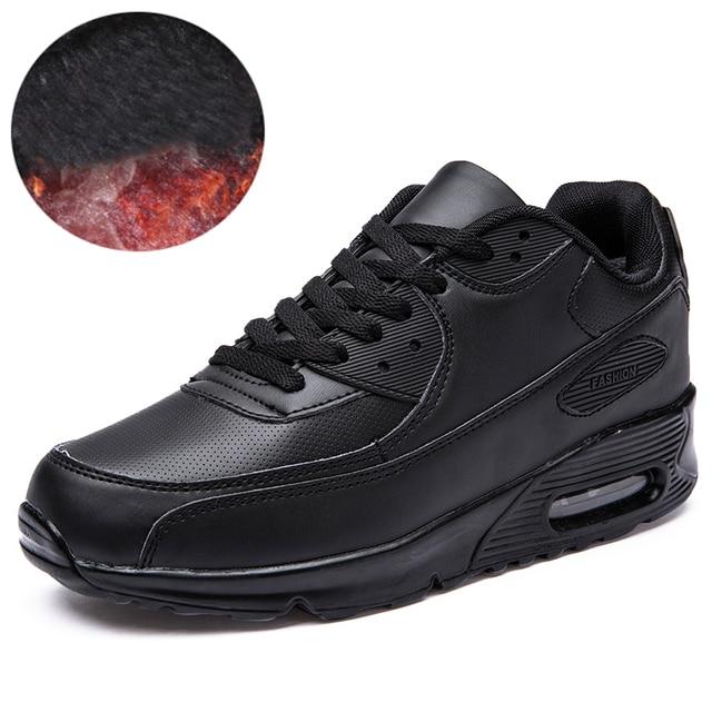 Мужчины Повседневная Обувь 2017 Мода Мужская Тренеры Плоские Любителей Обувь Для Ходьбы Воздуха Спорт Sneakes С Меха Zapatillas Deportivas Hombre