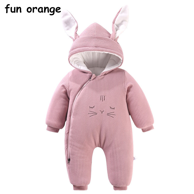 Fun Orange Newborn Baby Rompers Infant Romper Baby Boys Girls Jumpsuit Clothing Hooded Toddler Cute Baby Costum infant animal romper baby boys girls jumpsuit newborn clothing hooded toddler baby clothes cute romper baby costume fz044 16