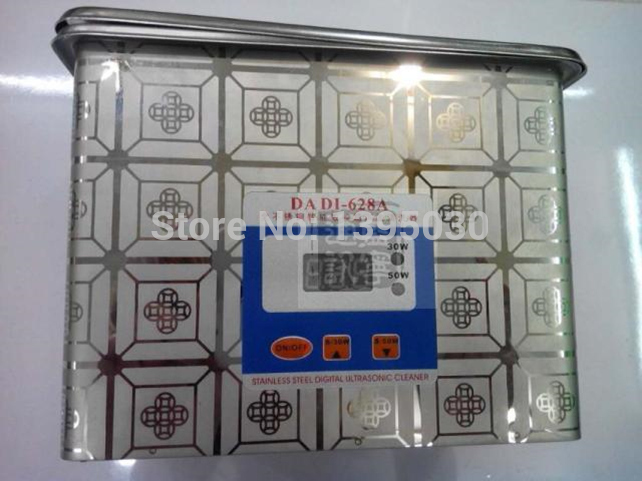 1PC Rustfrit stål Ultralyd rengøringsmiddel Ultralydsrensning - Husholdningsapparater - Foto 2