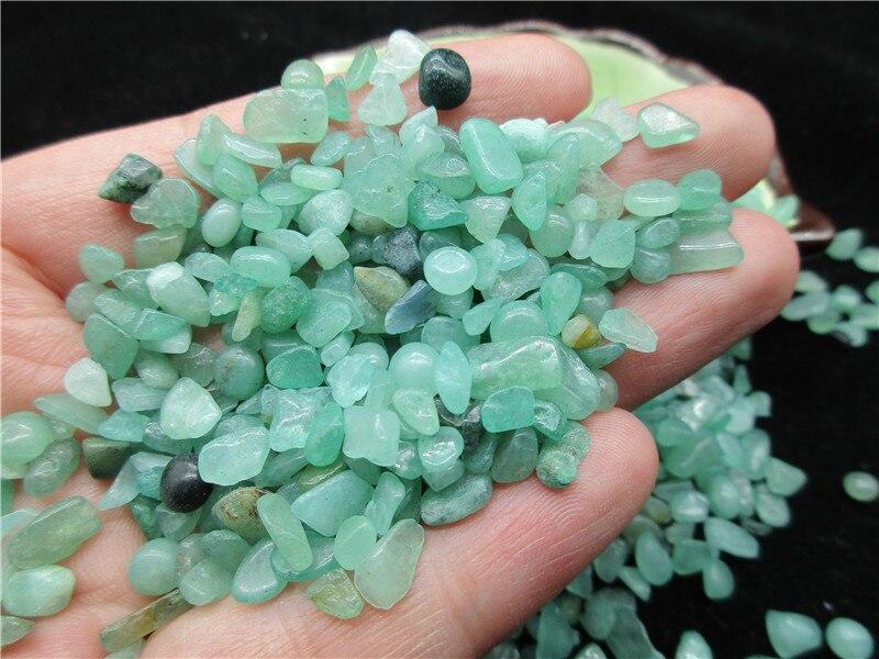 Aventurine naturelle jade cristal pierres vertes roche minérale pierre gravier spécimen Aquarium gravier décoration - 6