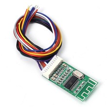 Kcx_bt002 Bluetooth приемник аудио модуль без потерь Bluetooth 4.2 Беспроводной mp3 декодирования доска для компьютера автомобиля плеер обновления