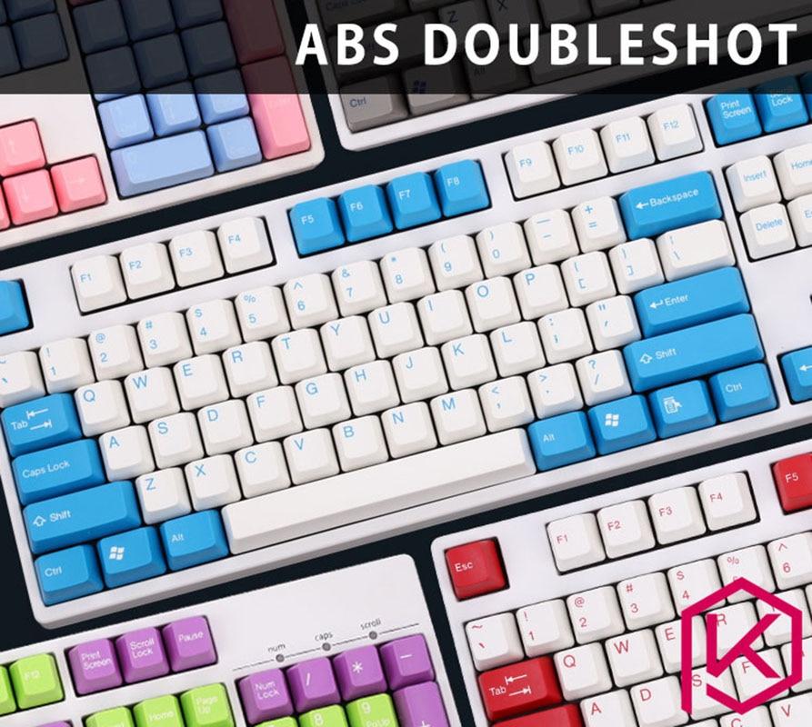 все цены на  ABS DIY Keycaps Set for Mechanical Keyboard Gaming Keyboard Keycaps  US Layout Keycaps  онлайн