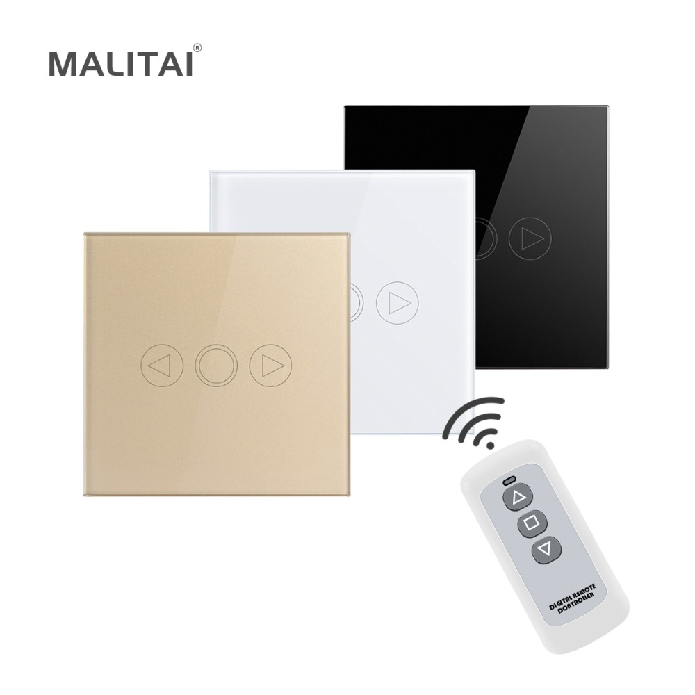 Remote Control Touch Sensor LED Dimmer 220V Waterproof light Switch EU UK Standard Power Wall Switch Crystal Glass Panel Module home automation wall light switch eu standard 220v 3gang white crystal glass panel remote control touch light switch with led
