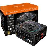Tt (Thermaltake) rated 650W TPG RGB 650W power supply (linking board RGB fan / 80PLUS gold / full module / ten years warranty)