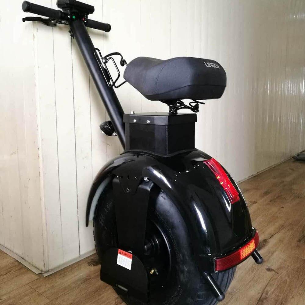 Un scooter électrique à grosses roues Mobilité trottinette électrique Pour Adulte 1000 W bluetooth en option