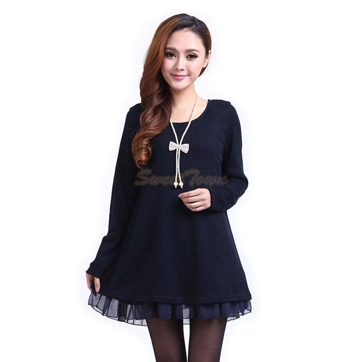 Aliexpress.com : Buy Autumn Winter Casual Dress Cocktail Long ...