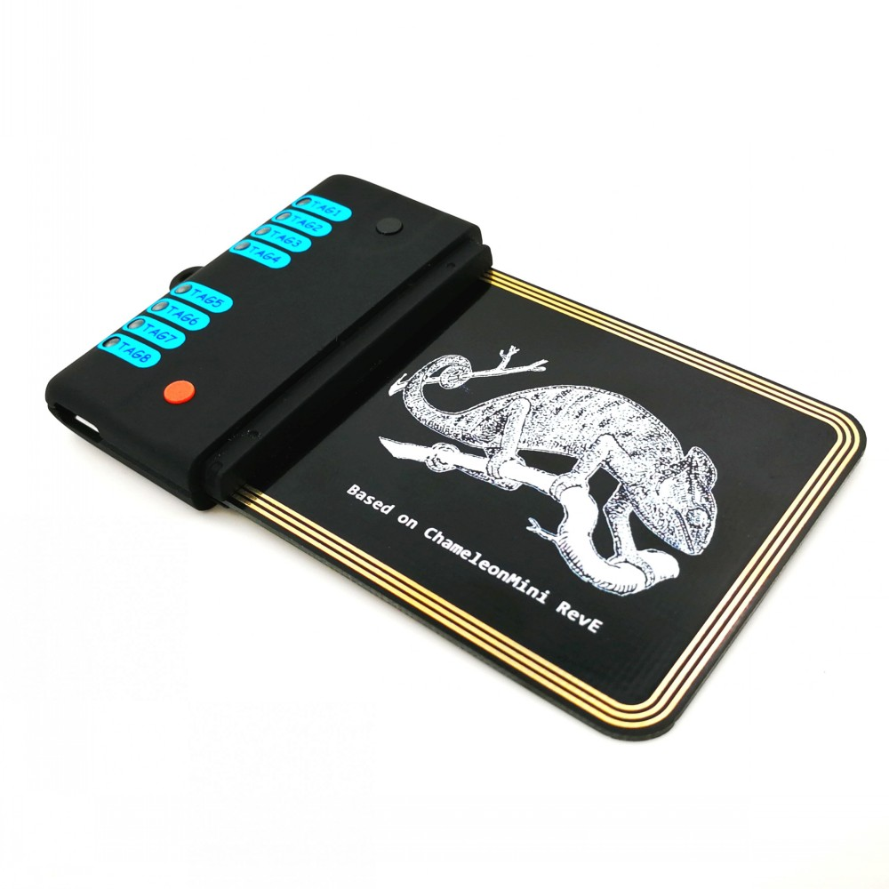 Chameleon V2 0 13 56MHZ RFID Simulation Tool Card Cloner Copier NFC Duplicator 5pcs UID Token