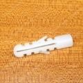 60 unids Blanco tubo de goma tubo de expansión de Plástico de plástico de nylon bulge ancla el tapón de goma de expansión tipo Torpedo tubo M8 * 38mm