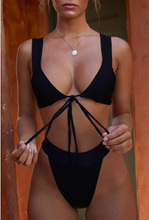 2019 Wide Straps High Cut Bandage Push up Bikini Bralette Women Swimwear Lace up Solid Bathing Suit Sexy Brazilian Swimsuit 2018 sexy lace up bandage biquini bathing suit high cut swimsuit plus size swimwear women brazilian push up bikini for big bust