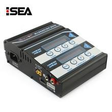 Htrc Батарея Зарядное устройство H120 AC/DC двойного Порты баланс Зарядное устройство разрядник для литий-ионным LiPo/life/lihv/ NiCd/NiMH/pb Батарея