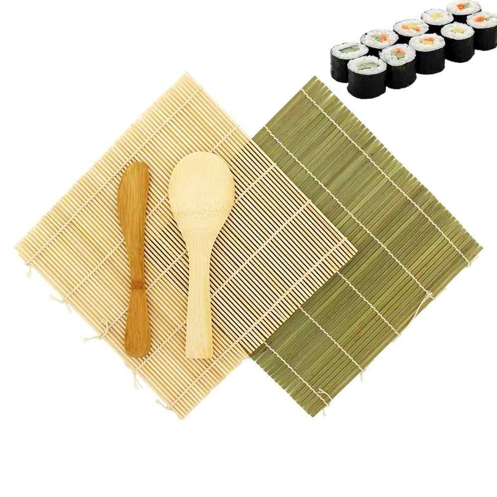 GGBEST Caldo Sushi rotolamento Rullo Bambu DIY Sushi Stuoia Onigiri Riso Rullo Mano creatore Sushi Utensili Cucina Giapponese Cibo Beto Accessori