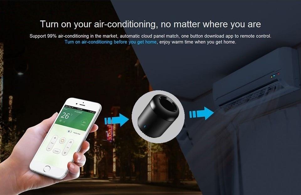 receptor infrarrojos, controlador remoto wifi y red móvil