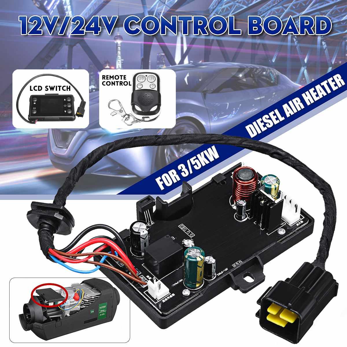 12 V/24 V Control Board LCD Schalter Fernbedienung Für Air Diesel Heizung 3-8KW Auto Parkplatz Heizung Controller board Für Auto Stamm
