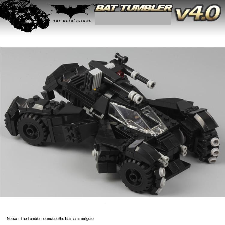 ФОТО MOC 2016's Batmobile Tumbler The Batman Movie vs Super Man Dawn of Justice SUPER HEROES MINIFIGs Building Blocks Kids Toys