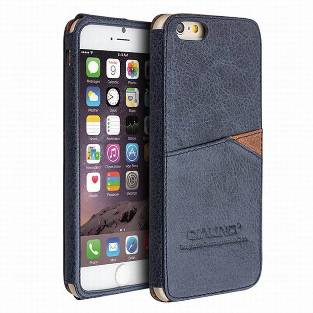 d83ab55ced High-End Real Genuine Leather Case For iPhone 6 4.7 / Plus 5.5 inch Vintage Cover  Cases for Apple iPhone6 Shell With Card Slot