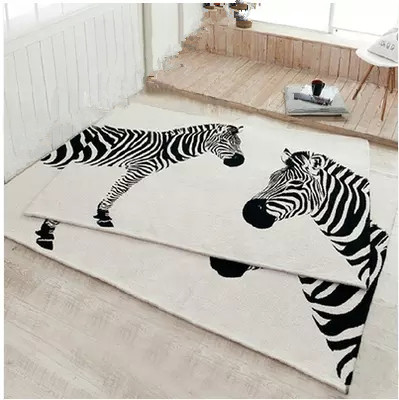 Rectangle moderne acrylique grand tapis pour salon chambre tapis mignon rose design chambre mode tapis personnalisé ajustement chambre tapis