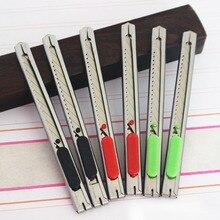 Художественный нож, универсальный нож, товары для рукоделия, бумажный и офисный нож, сделай сам, художественный резак, канцелярские принадлежности, Школьные Инструменты, резак для бумаги, 1 шт